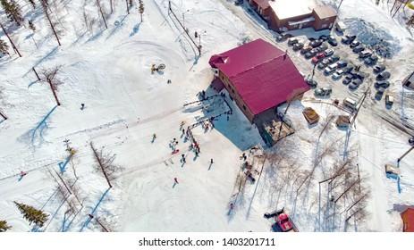 Ski complex in the city of Norilsk
