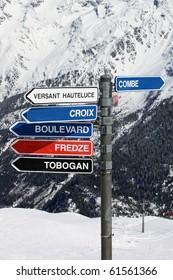 ski direction