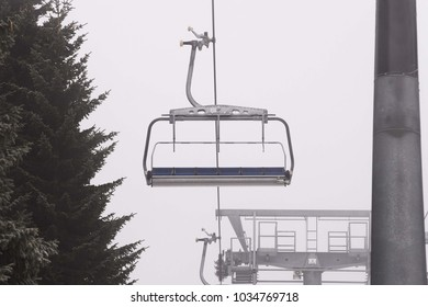 ski lift isolated