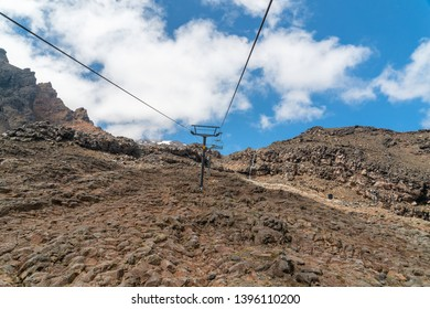Ski Lift, Mount Ruapehu,  Tongariro National Park