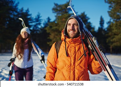 Ski lovers