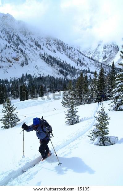 Ski Mountaineering outside Aspen, Colorado