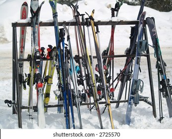 ski on a break
