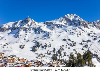 Ski resort in Austria, Obertauern