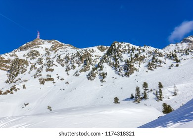 Ski resort in Austrian Alps, Obertauern