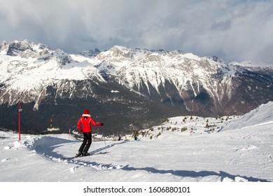 Ski resort Paganella – Andalo is located in Altopiano della Paganella/Dolomiti di Brenta/Lago di Molveno , Trentino-Alto Adige ,Italy