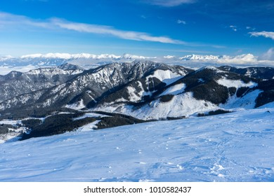 Ski resort in Slovakia, Low Tatra Mountains