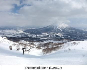 Ski runs in Hokkaido, Japan - Hirafu, Niseko and Mount Yotei