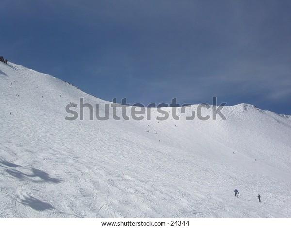 Ski, Snow, Mountain, Resort, Extreme, Mammoth, Bowl