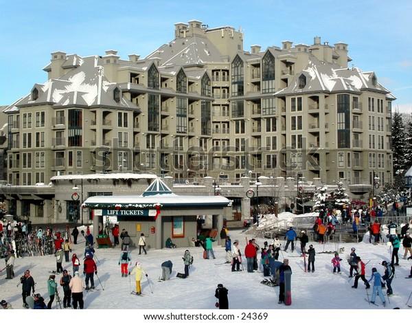 Ski, Snow, Mountain, Resort, Whistler, Holiday