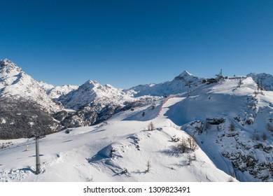 Ski station, holidays in Valtellina