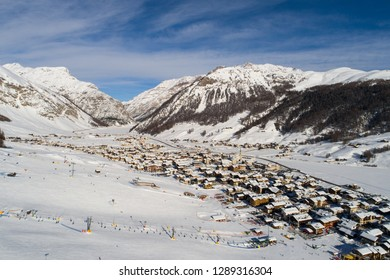Ski station in Valtellina, Livigno.