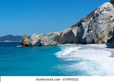 skiathos greece island lalaria beach