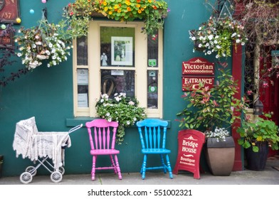 Skibbereen,Ireland - August 11, 2015: Small family Hotel in Skibbereen, Ireland