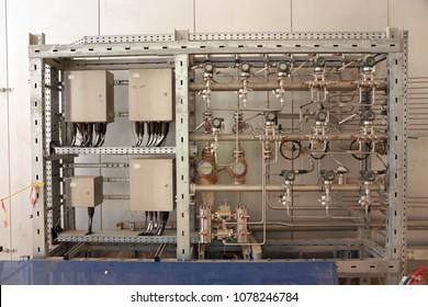 Skid mounted industrial instrumentation