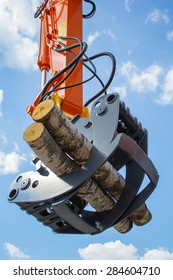 Skidder loading wood