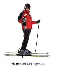 Skier einzeln