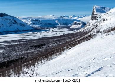 Skierfe - Sarek National park in Lapland Sweden
