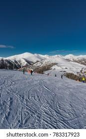 Skiing At Bad Kleinkirchheim St. Oswald Carinthia Austria
