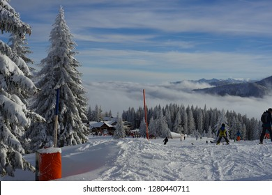 Skiing Landscape Mountainscape