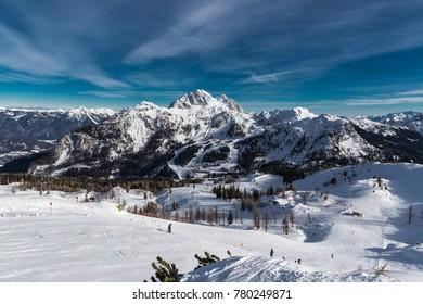 Skiing At Nassfeld Carinthia Austria