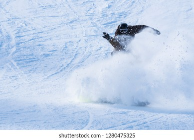 Skiing and snowboarding at Solitude Ski Resort in Utah.  Solitude is located in Big Cottonwood Canyon, 20 miles east of Salt Lake City,  Brighton Ski Resort is also located in the same canyon.