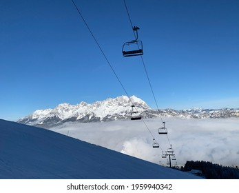Skilift with a beautiful view