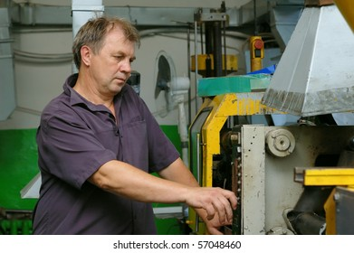 skilled laborer in factory
