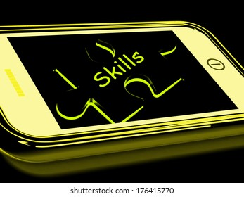 Skills Smartphone Meaning Knowledge Abilities And Competency