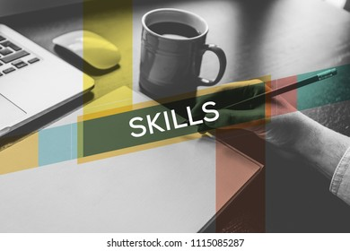 SKILLS AND WORKPLACE CONCEPT