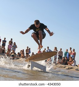 Skimboard competition - Best trick