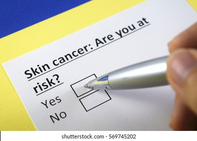 Skin cancer: Are you at risk? Yes or no