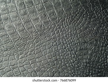 Skin crocodile black. texture. Photography Studio