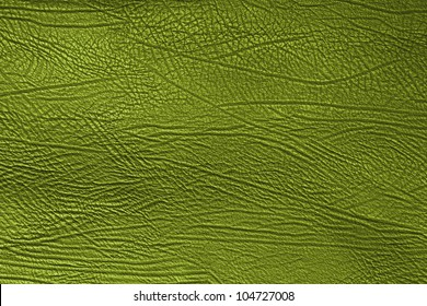 Skin texture, green skin background