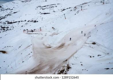 Sking in Valle Nevado, Santigo, Chile. 01-08-2015