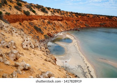 SkipJack Point is in Francois National Park Western Australia.Colors of the cliffs are awesome