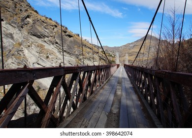 Skippers Bridge,, Queenstown, New Zealand
