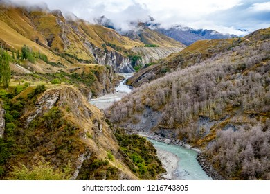 Skippers Canyon near Queenstown in Central Otago - New Zealand