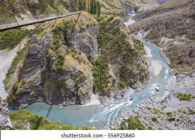 Skippers Canyon near Queenstown in Central Otago, South Island, New Zealand.