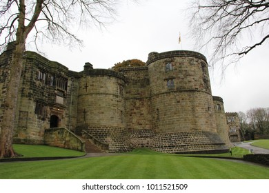 Skipton Castle is a medieval castle in Skipton in the Craven district of North Yorkshire, England