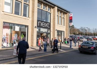 Skipton, England - 02 Feb 2019: Skipton shopping Next