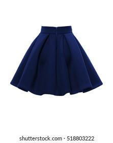 skirt on a white background