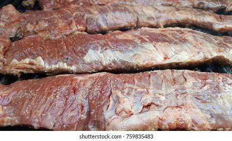 skirt steak churrasco