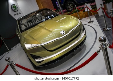 Skoda concept vehicle - Belgrade, Serbia, March 23, 2019