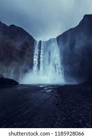 Skogafoss  is a waterfall situated on the Skógá River in the south of Iceland