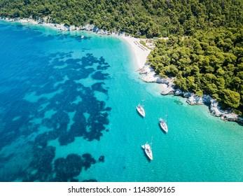 Skopelos island in Greece - beach holiday travel