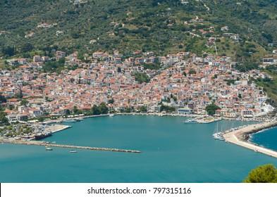 Skopelos village view!
