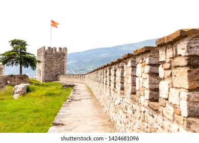 Skopje, Macedonia - May 19, 2019: Kale Fortress