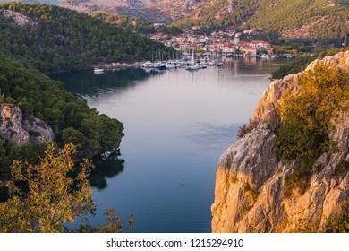 Skradin fishing village,Croatia