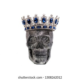 skull with a crown, Day of the Dead